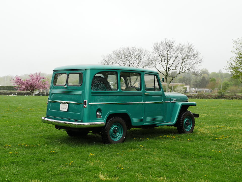 <b>1960 Willy's Station Wagon</b><br />Chassis no. 5416847068