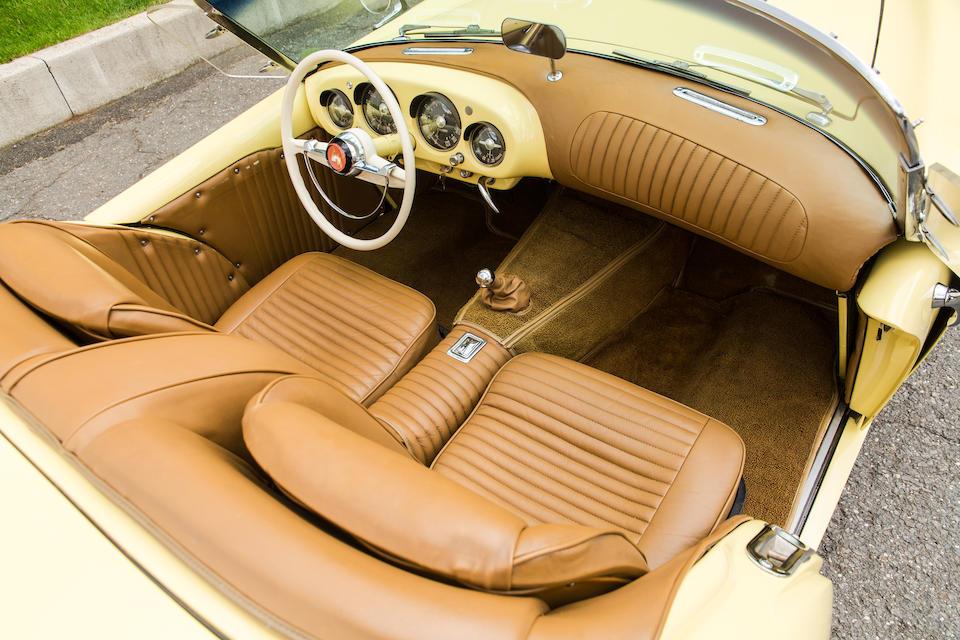 <b>1954 Kaiser Darrin SPORT CONVERTIBLE</b><br />Chassis no. 161-001188