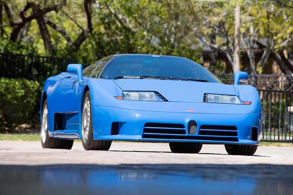 <b>1993 Bugatti EB 110</b><br />VIN. ZA9AB01E0PCD39034<br />Engine no. 0051