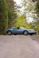 <b>1974 Ferrari DINO 246GTS</b><br />Chassis no. 08278