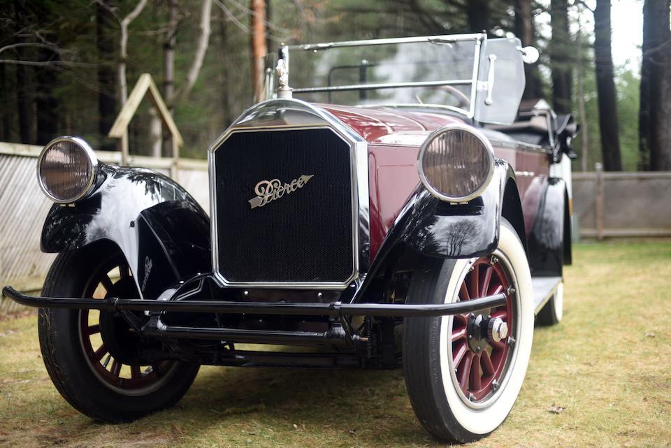 <b>1924 Pierce Arrow Model 33 Seven-Passenger Touring</b><br />Chassis no. 339177<br />Engine no. 339169