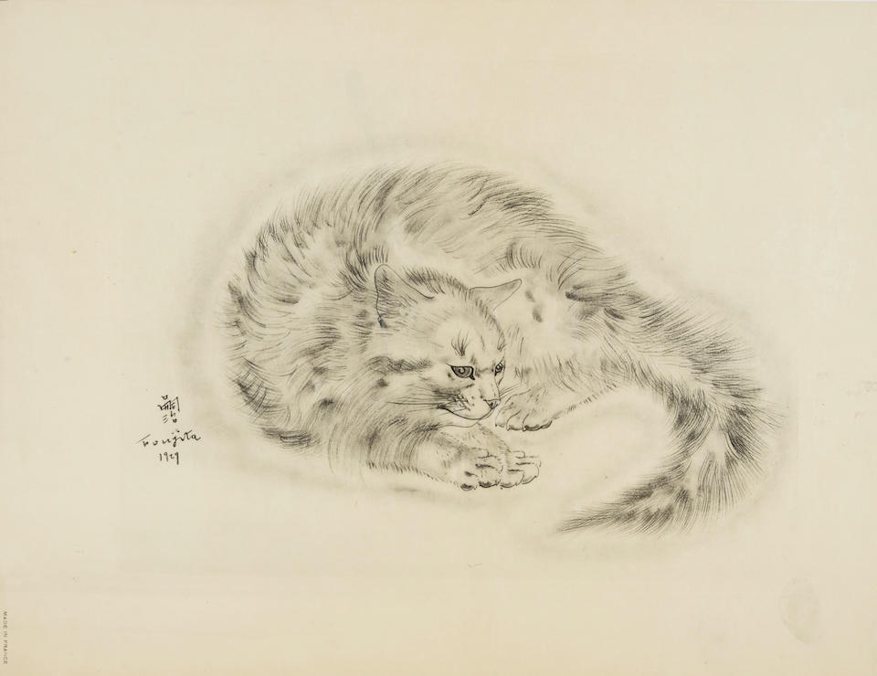 Léonard Tsuguharu Foujita (1886-1968); 19 Plates, from A Book of Cats;