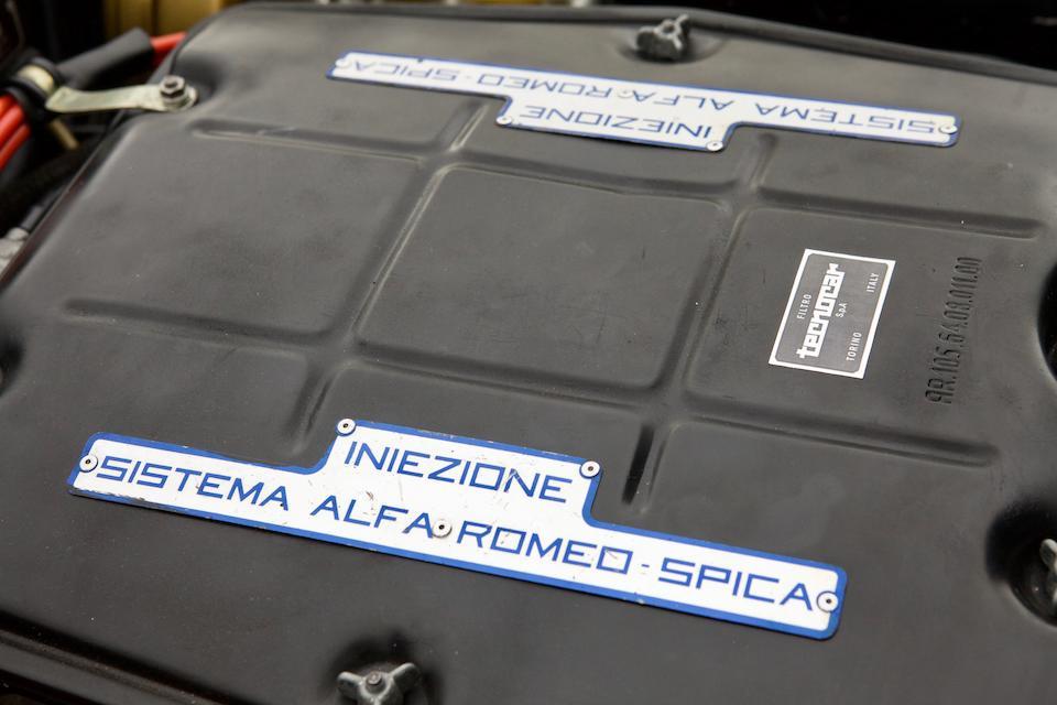 <b>1971 ALFA ROMEO  MONTREAL</b><br />Chassis no. AR1425276