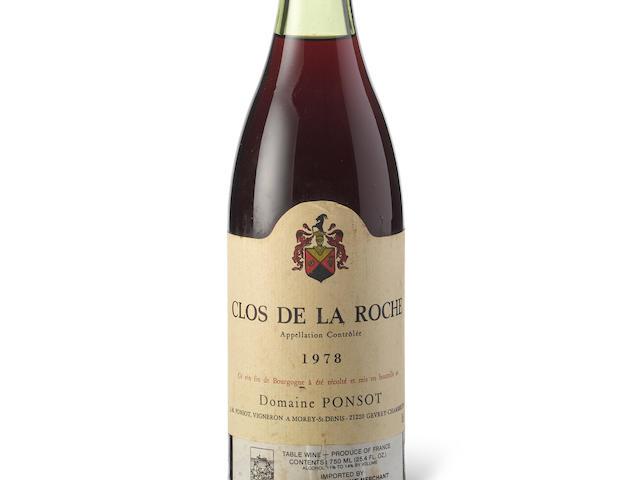 Clos de la Roche, Vieilles Vignes 1978, Ponsot (1)