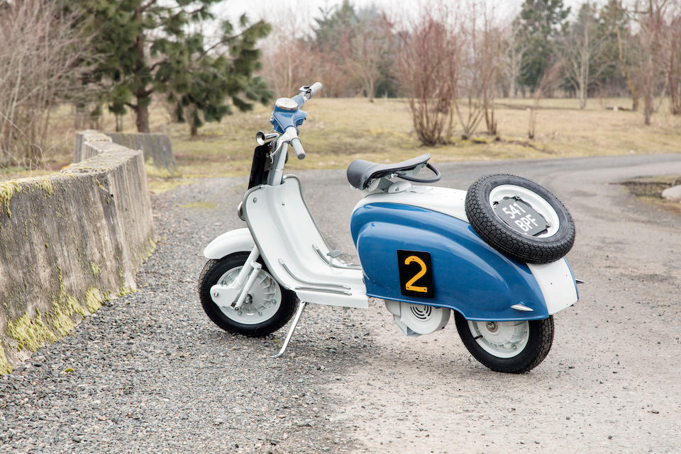 <b>1960/59 Lambretta  125/198cc 'Scottish Six Day Trials' Rep.</b><br />Frame no. 125 Li 738592<br />Engine no. 125 Li 582159