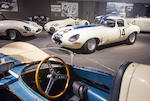 <b>1963 Jaguar E-Type Lightweight</b><br />Chassis no. S850664<br />Engine no. RA 1349-9S