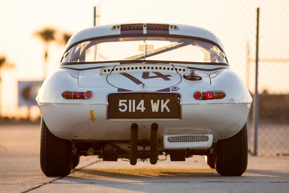 <b>1963 Jaguar E-Type Lightweight</b><br />Chassis no. S850664<br />Engine no. RA 1349-9S