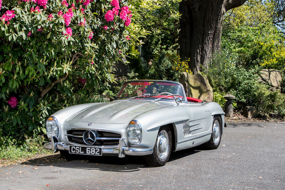 <b>1957 Mercedes-Benz 300SL Roadster</b><br />Chassis no. 198.042.7500299<br />Engine no. 198.9823/0000107