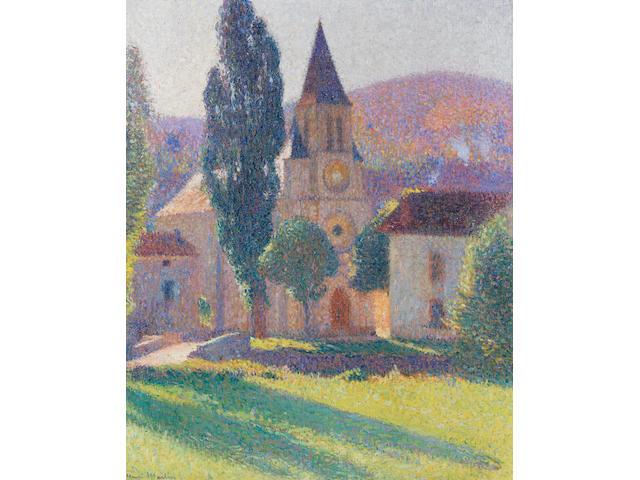 Henri Martin (1860-1943) L'église de Labastide du Vert