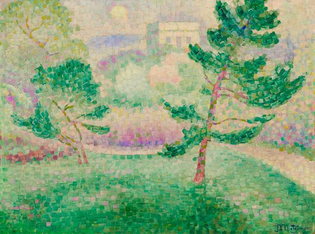 Jean Metzinger (1883-1956) Matin au parc Montsouris (Painted circa 1906)