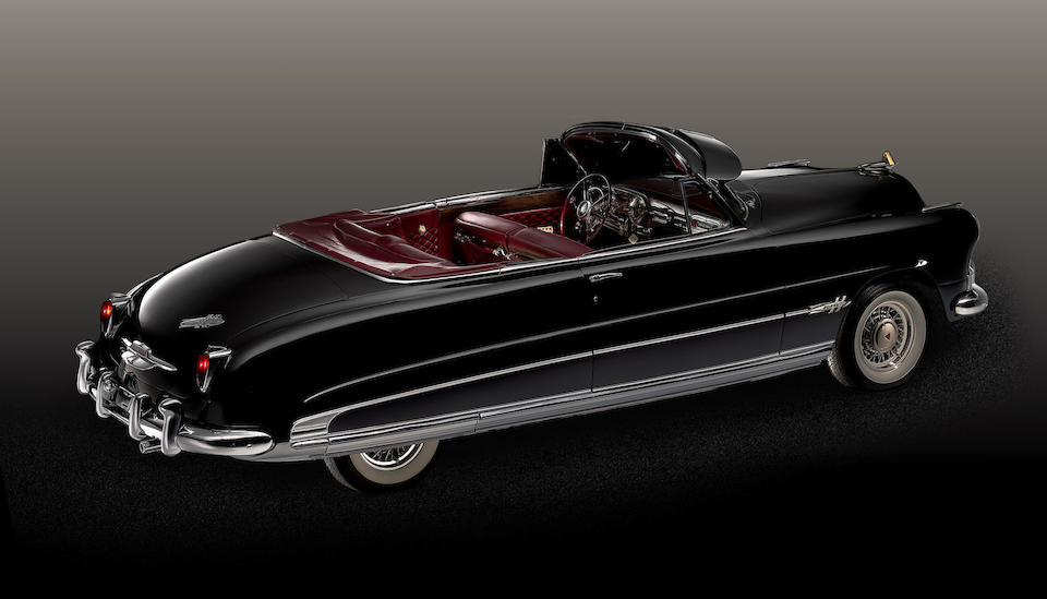 <B>1951 Hudson Hornet Convertible Brougham </B><br /> Chassis no. 7A109578