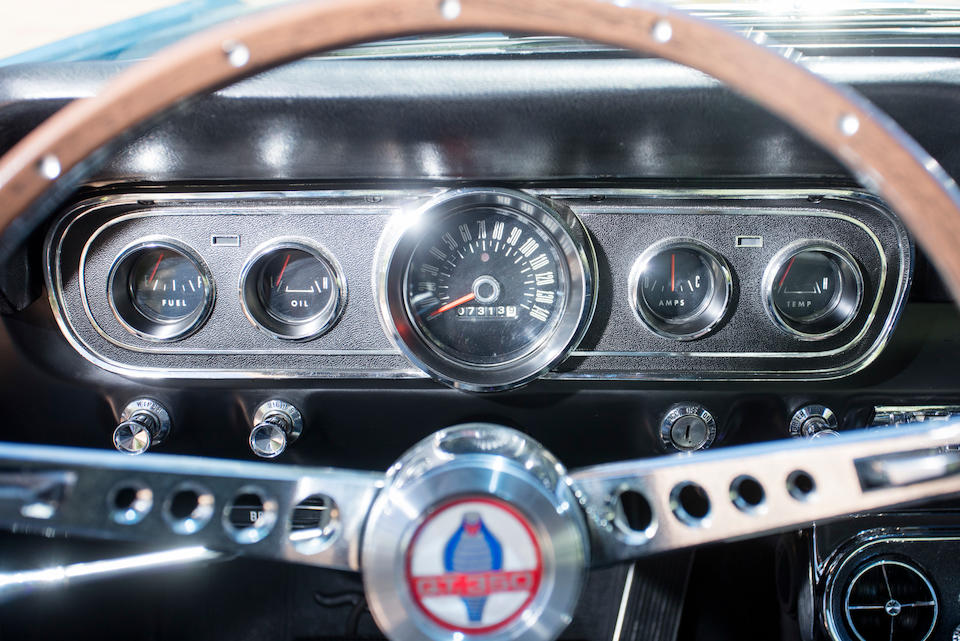 <b>1966 Shelby GT350H Fastback</b> <br />Chassis no. SFM6S1183