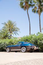 <b>1963 Chevrolet Corvette 327/300HP Coupe</b> <br />Chassis no. 30837S105895<br /> Engine no. 3105895 I2I9RD