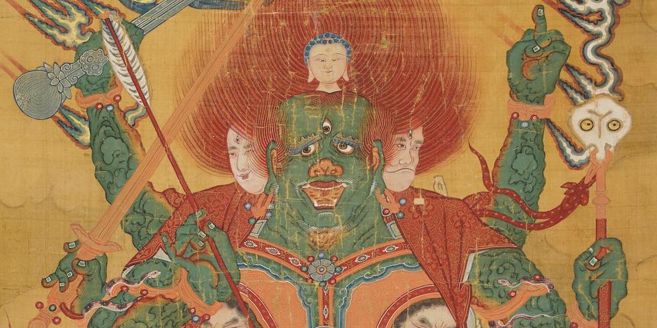 Anonymous Buddhist, Yamantaka Qing dynasty