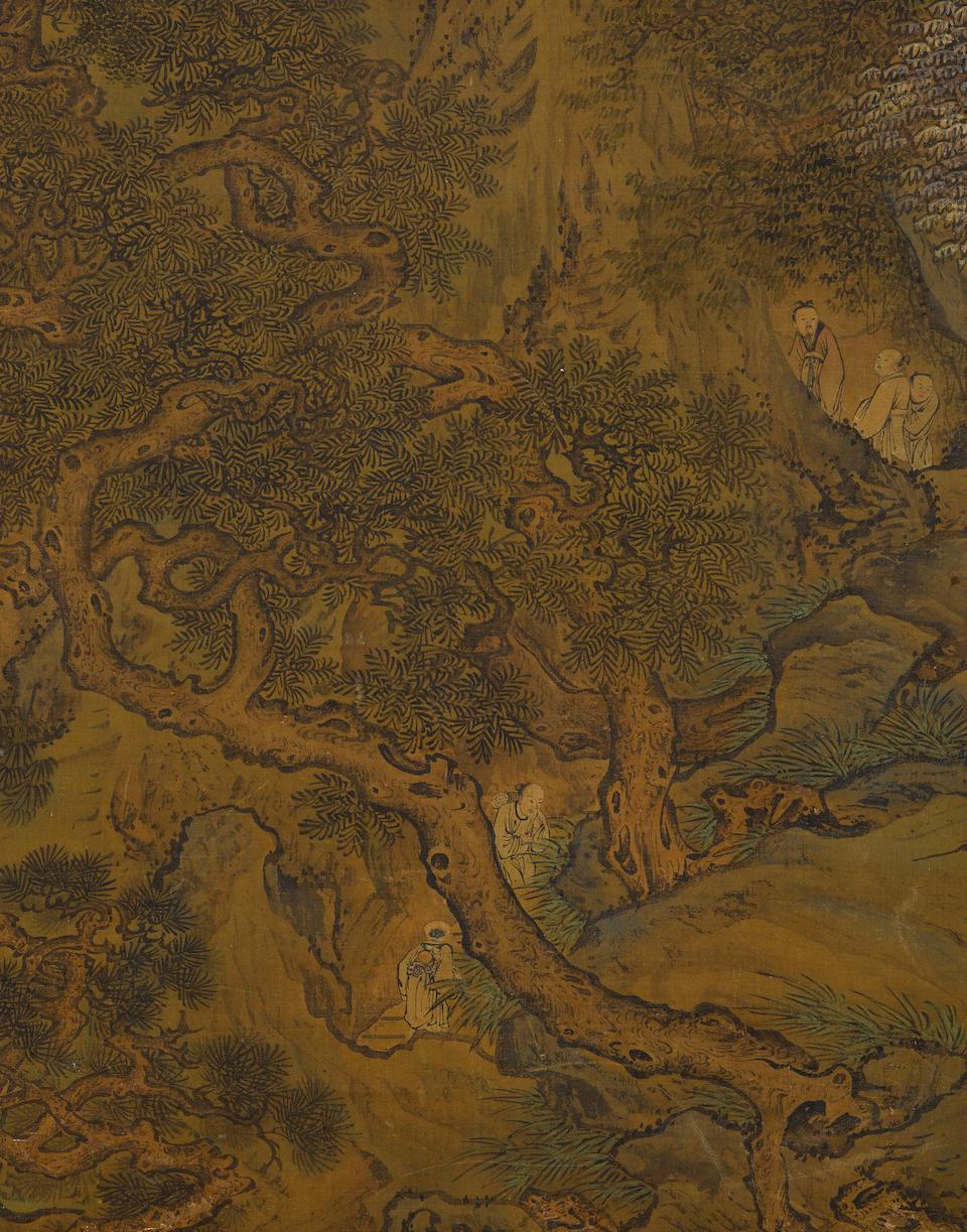 Attributed to Yuan Jiang (circa 1671-circa 1746) Celestial Landscape in the manner of Guo Zhongshu