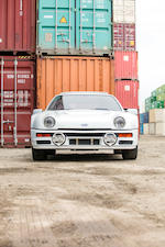 <b>1986 Ford RS 200</b><br />Chassis no. SFACXXBJ2CGL00133<br />