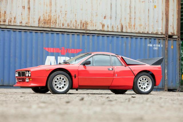 <b>1983 Lancia Rally 037 Stradale</b><br /> VIN. ZLA-151AR000000159
