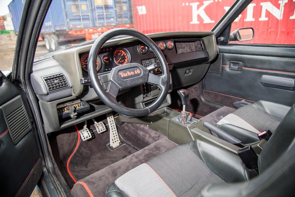 <b>1985 Peugeot 205 Turbo 16</b><br />VIN. VF3741R76E5100127