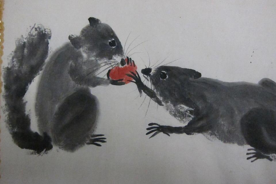 Qi Bashi (1864-1957) Squirrels