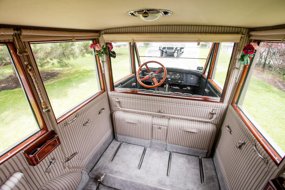<b>1923 Pierce-Arrow Model 33 7-Passenger Sedan</b><br />  Chassis no. 337585<br /> Engine no. 337-597