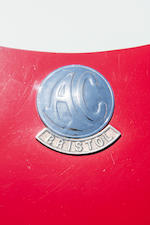 <B>1957 AC Aceca-Bristol </B><br /> Chassis no. BE603<br />Engine no. 100 D2 9907
