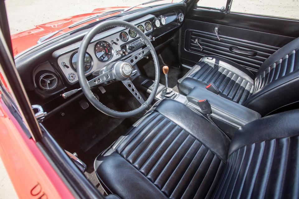 <B>1966 Lotus  Cortina MK I </B><br /> Chassis no. BA74FM59709<br />Engine no. S29773
