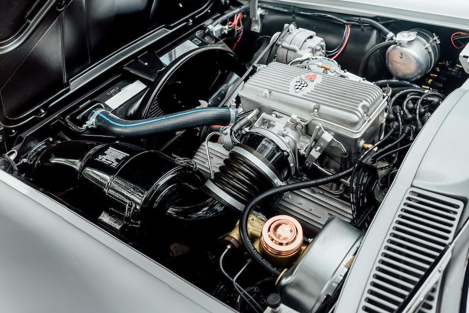 <b>1963 Chevrolet Corvette Z06 Fuel Injected Coupe</b><br />  Chassis no. 30837S118180<br /> Engine no. 118180 F0611RF