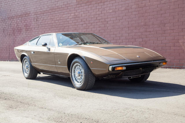 <b>1976 Maserati Khamsin</b><br />  Chassis no. AM120-210<br /> Engine no. AM120-210