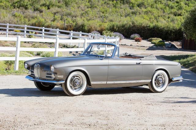 Bonhams 1957 Bmw 503 Cabrioletchassis No 69090engine No 30088