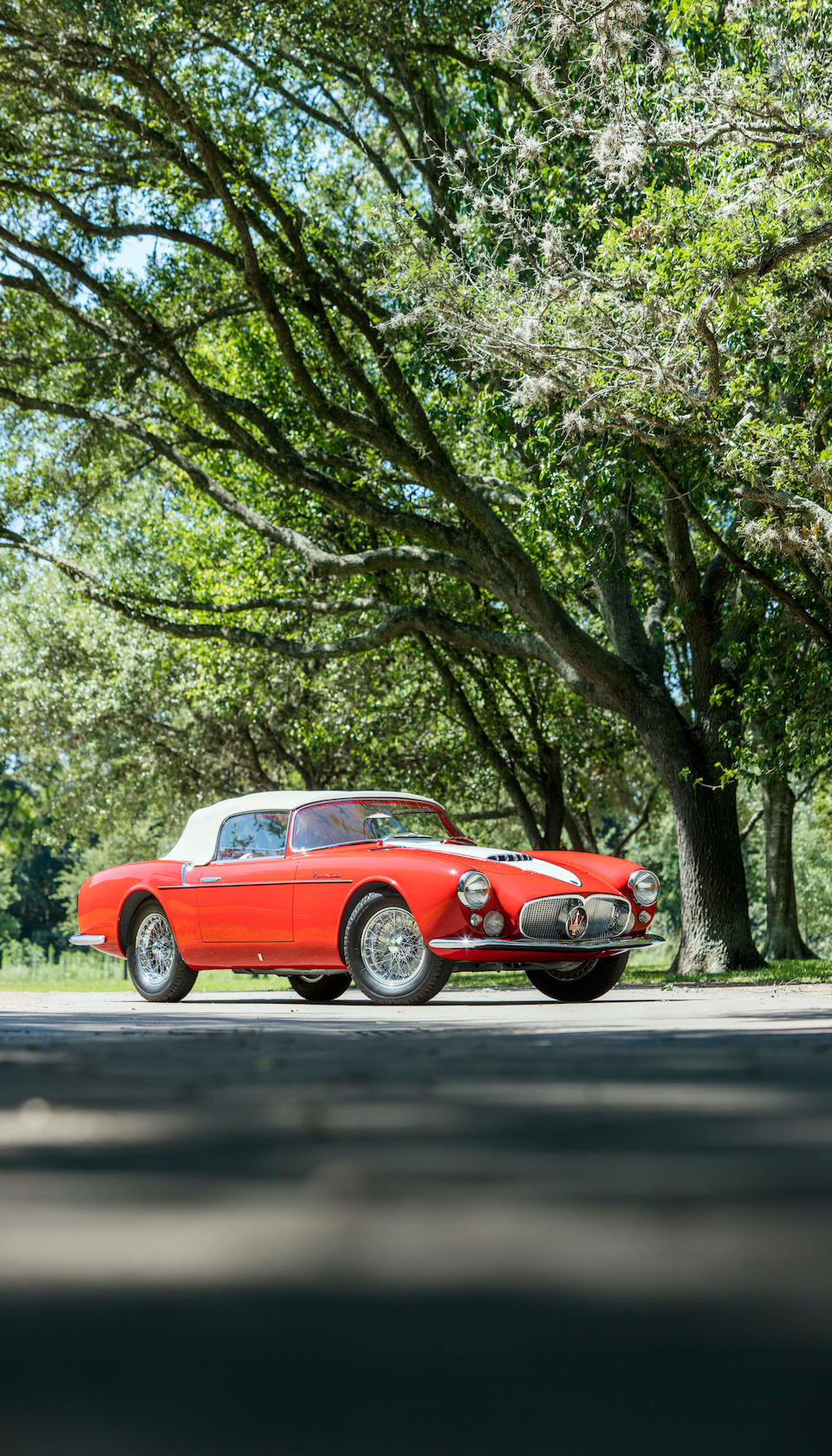 <B>1956 Maserati A6G/54 Gran Sport Spider </B><br /> Chassis no. 2180<br /> Engine no. 2146