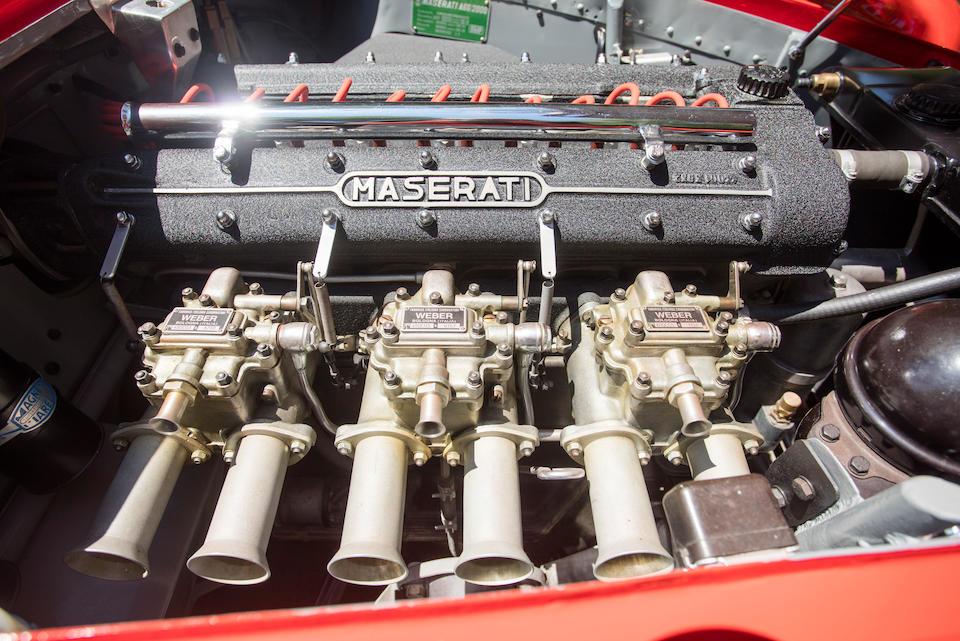 <B>1956 Maserati A6G/54 Gran Sport Spider </B><br /> Chassis no. 2180<br /> Engine no. 2146