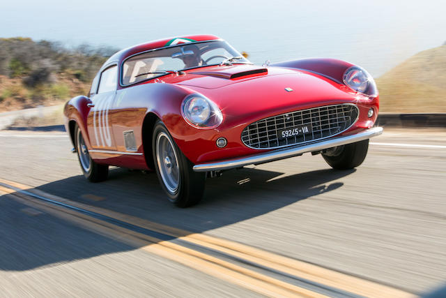 <b>1958 Ferrari 250 GT <I>'Tour De France'</I> Alloy Berlinetta</b><br />Chassis no. 0899 GT<br />Engine no. 0354 C