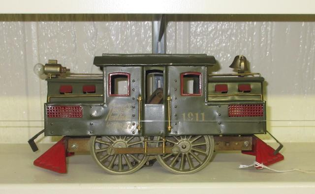 Lionel 1911 (early) Standard gauge electric locomotive, 1910-1911,