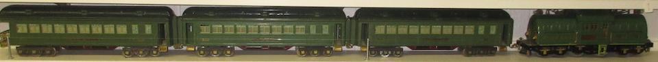 Lionel 381E Standard gauge 4-4-4 electric locomotive,