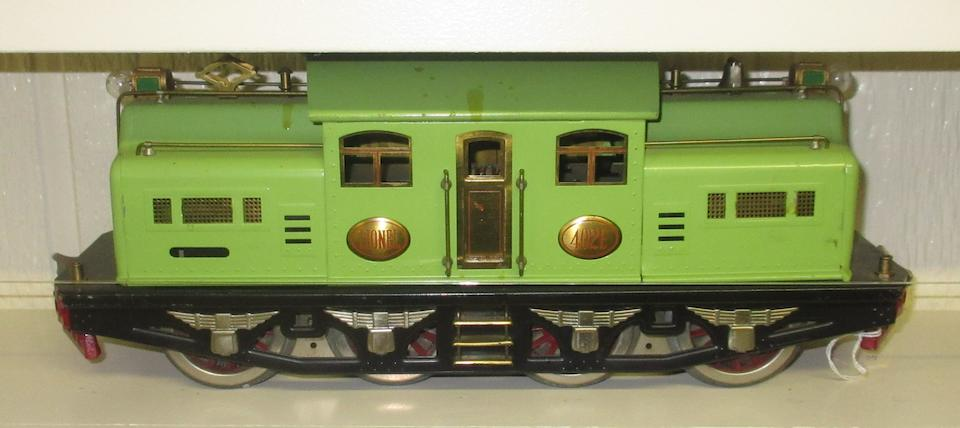 Lionel 402E Standard gauge 0-4-4-0 electric locomotive , 1926-1929,