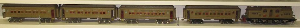 Lionel 408E Standard gauge 0-4-4-0 electric locomotive,