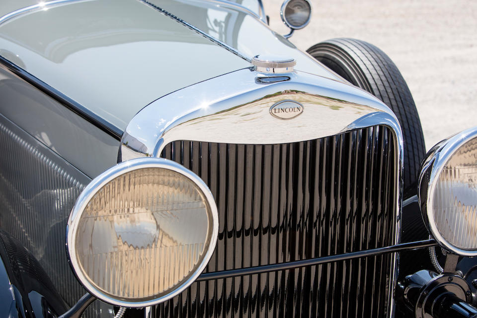 <B>1930 Lincoln Model L Convertible Roadster </B><br /> Chassis no. 64277