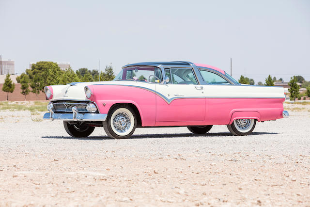 <B>1955 Ford Crown Victoria Sunliner </B><br /> Chassis no. U5GF165121