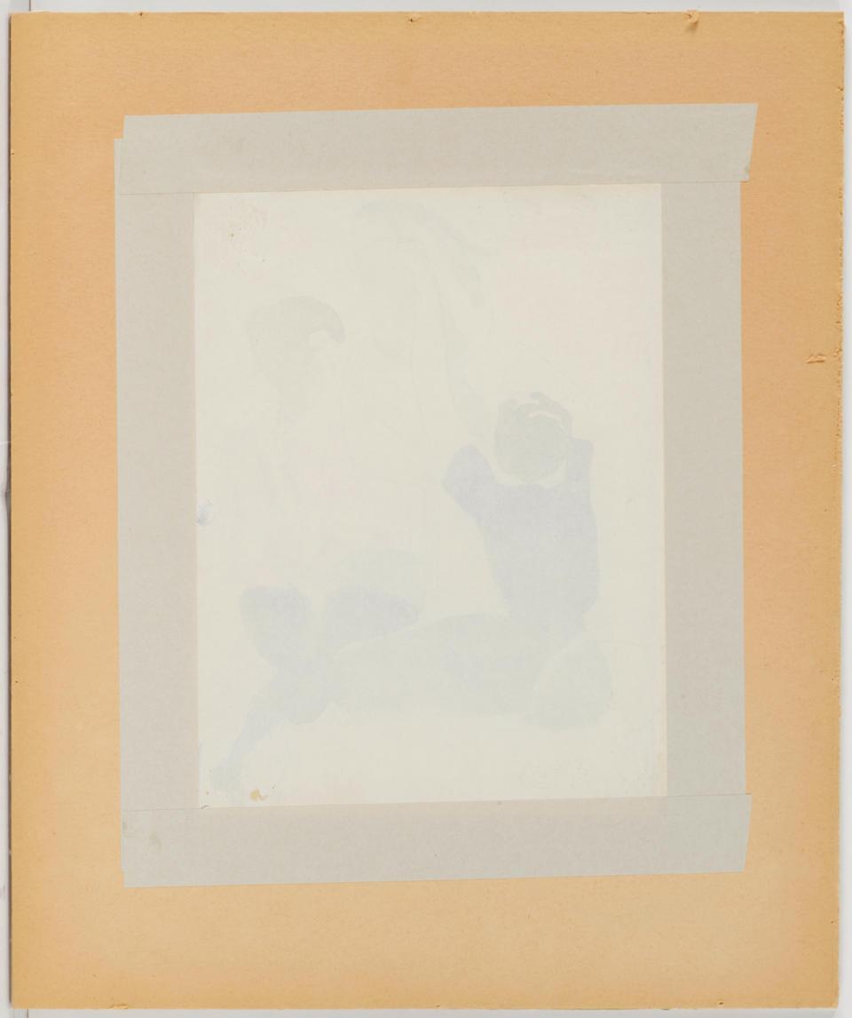 Louis Valtat (1869-1952) Les couturières 9 1/4 x 7 in (23.4 x 17.5 cm)