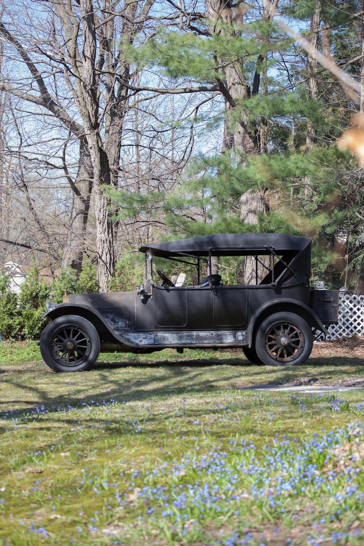<b>1913 Stevens-Duryea Model C6 Five&#8211;Passenger Touring</b><br />Chassis no. 26392<br />Engine no. 722-C
