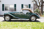 <b>1954 MG TF</b><br />Chassis no. HDE43/1020<br />Engine no. XPAG/TF/31073