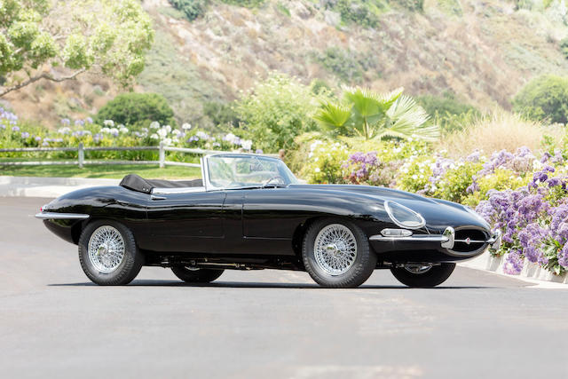 <B>1966 Jaguar E-Type Series I 4.2 Roadster</B><br /> Chassis no. 1E13757<br />Engine no. 7E10599-9