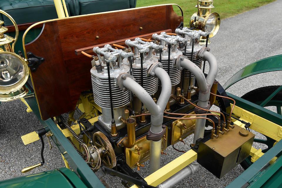 <b>1904 PREMIER MODEL F 16HP REAR ENTRANCE TONNEAU</b><br />Chassis no. Not Known