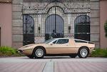 <b>1974 Maserati Bora 4.9</b> <br />Chassis no. AM117/49-US762<br />Engine no. AM107/11/49 762
