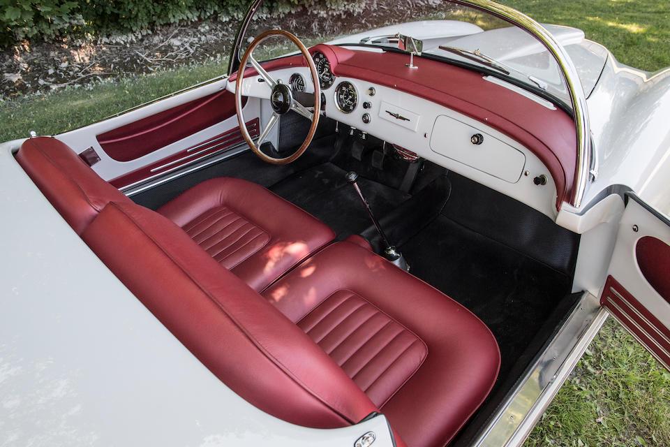 <b>1955 Lancia Aurelia B24S Spider America</b><br />Chassis no. B24S-1110<br />Engine no. B24-1119