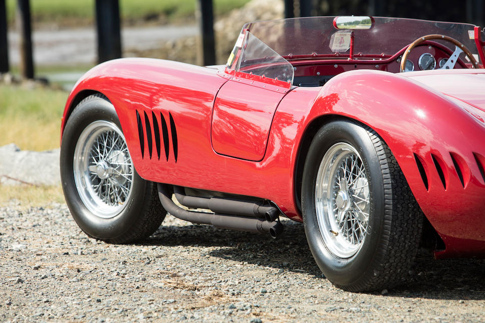 <B>1956 Maserati 300S SPORTS RACING TWO SEATER</B><br />Chassis no. 3069<br />Engine no. 3058 (see text)