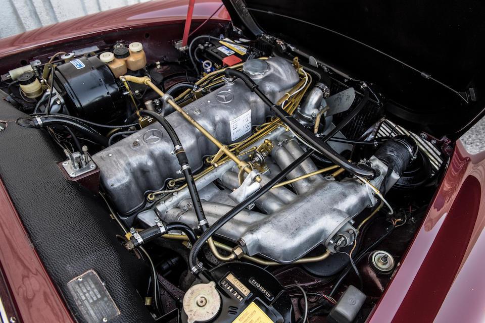 <b>1964 Mercedes-Benz 230SL</b><br />   Chassis no. 113042.10.03626<br /> Engine no. 130980.10.012147