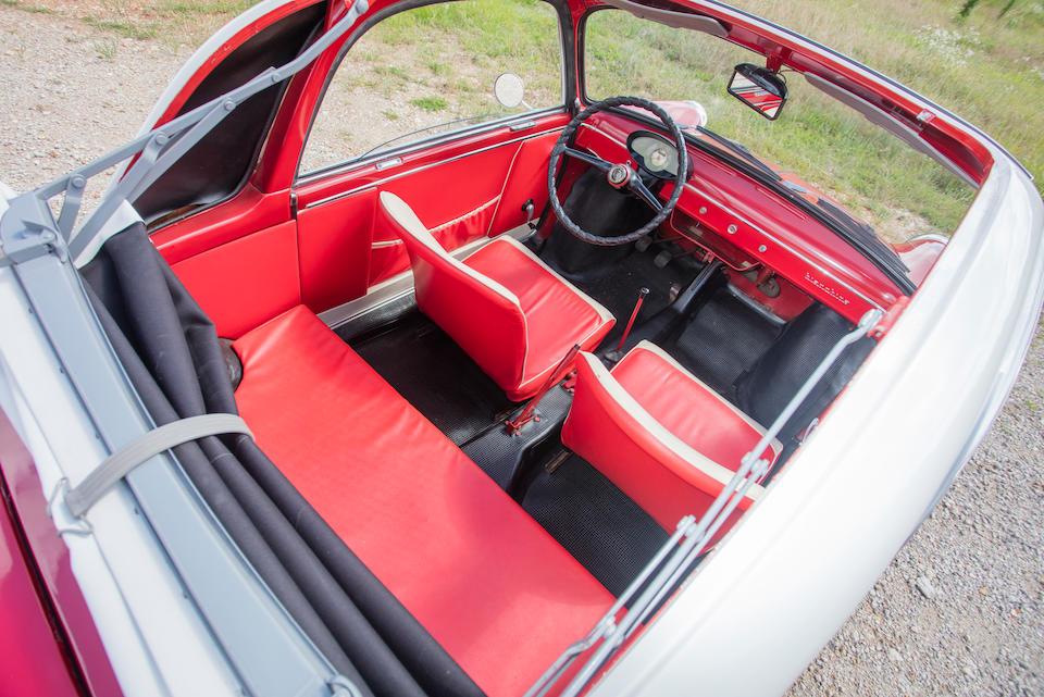 <b>1959 Autobianchi Bianchina Trasformabile</b> <br /> Chassis no. 012492<br /> Engine no. 063054