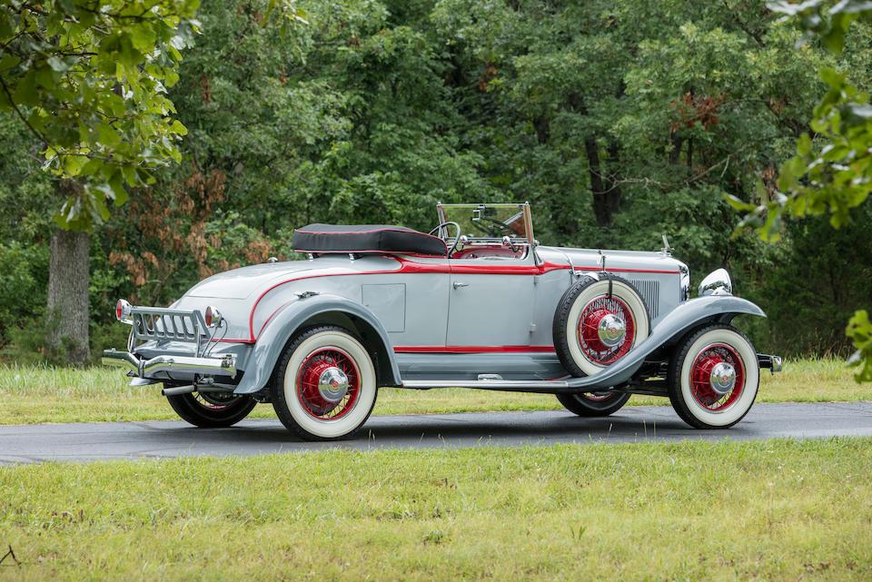 <b>1931 Studebaker President Four Seasons Roadster </b><br />  Chassis no. 7034735<br /> Engine no. P1478