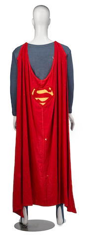 A George Reeves costume from The Adventures of Superman